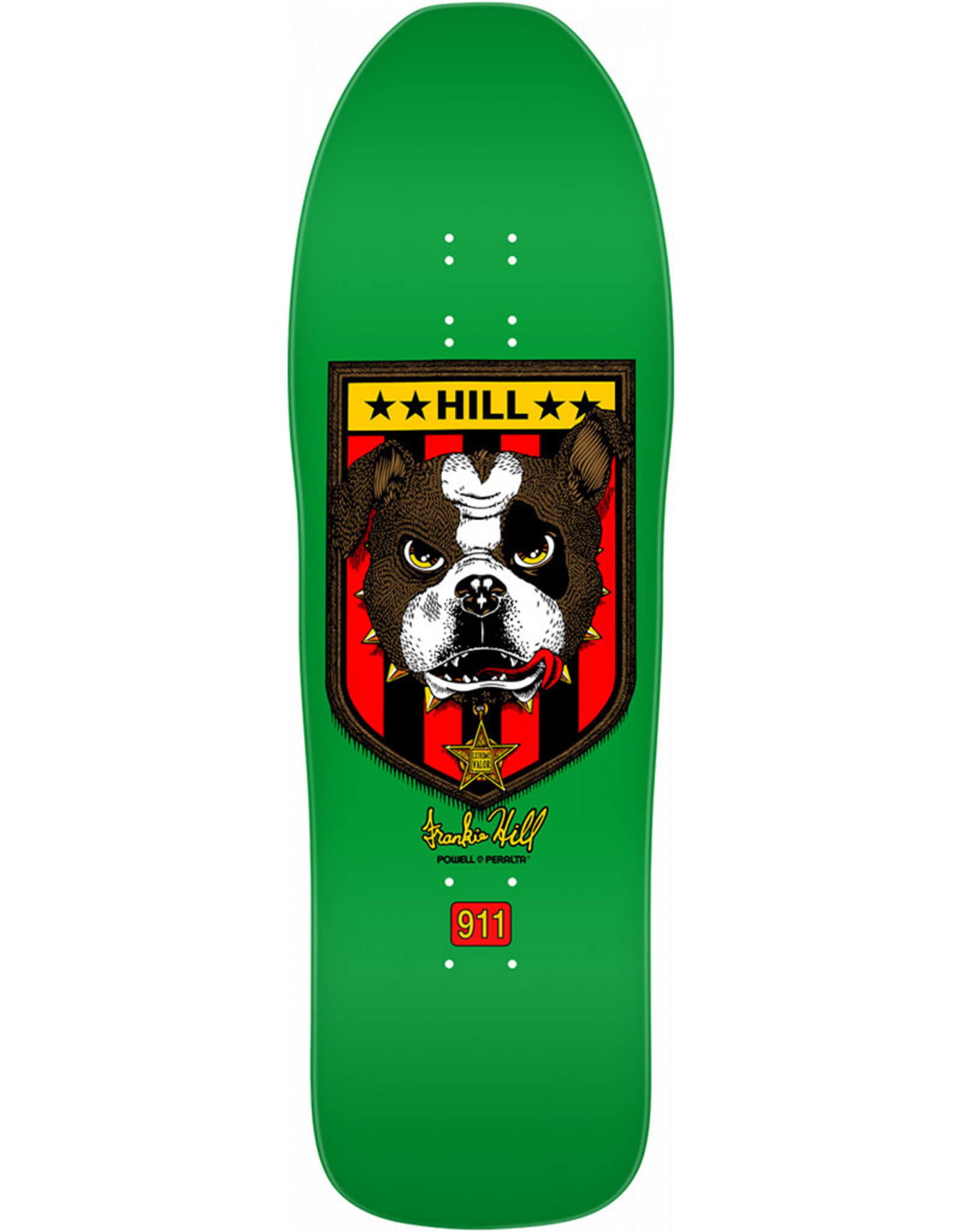 Powell Peralta Powell Peralta Deck Frankie Hill Bull Dog 6 Re-Issue Green (10.0)