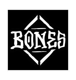 Bones Bones Sticker Logo Diamond White/Black (Medium)