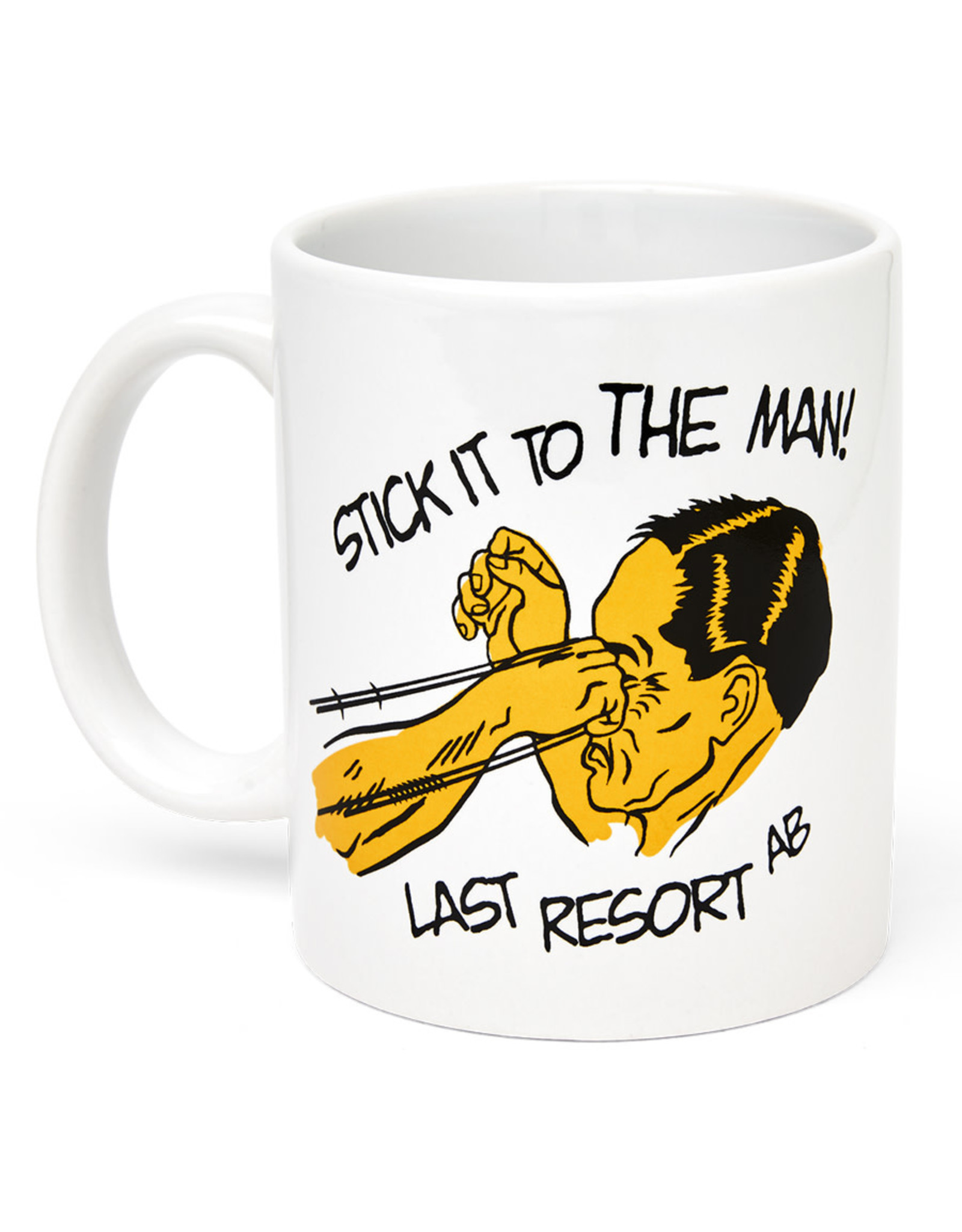Last Resort Last Resort Mug Stick It (White)