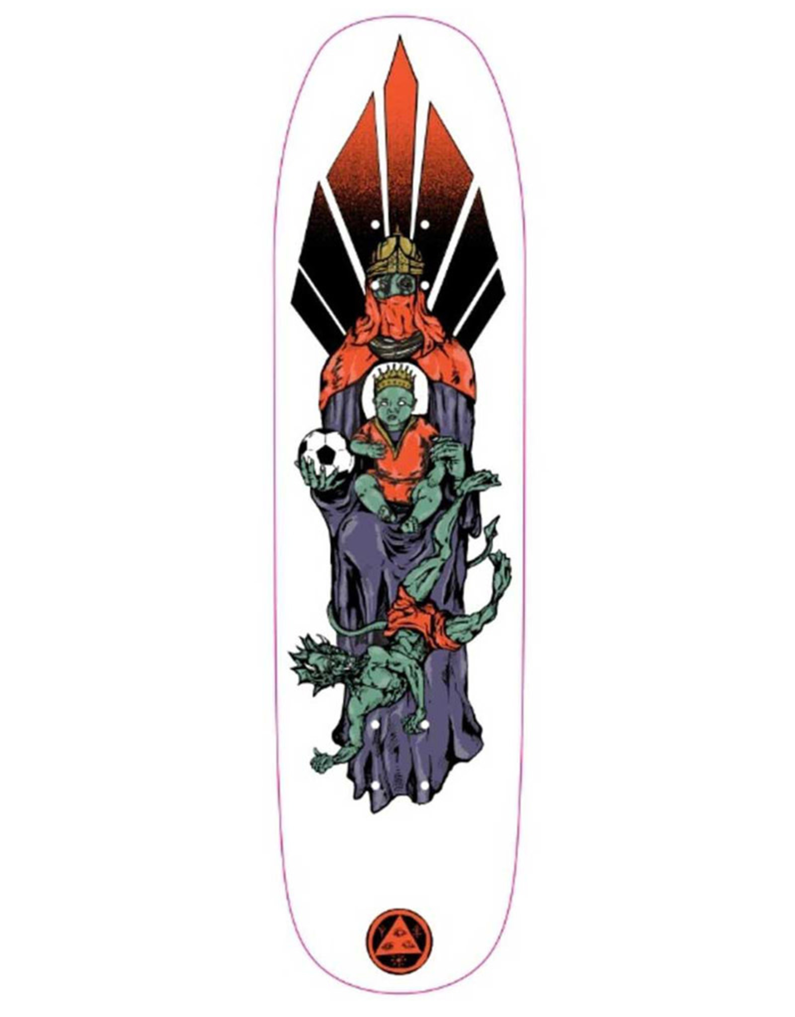 Welcome Welcome Deck Team Futbol On Son Of Moontrimmer White (8.25)