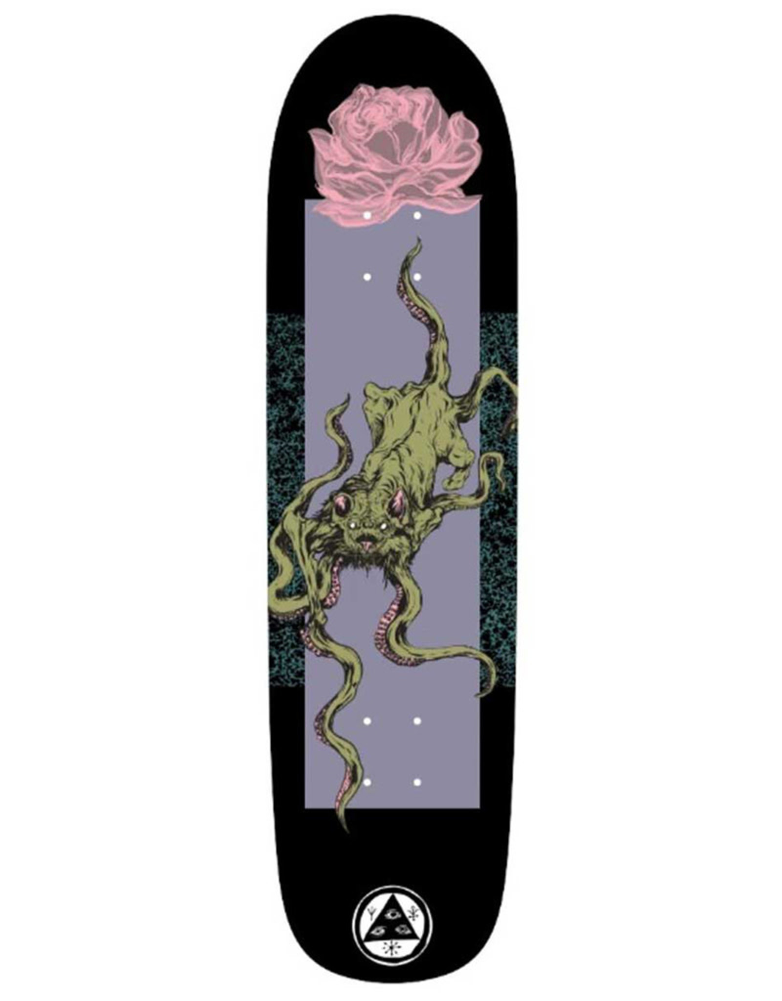 Welcome Welcome Deck Team Bactocat On Son Of Planchette Black/Lavender (8.38)