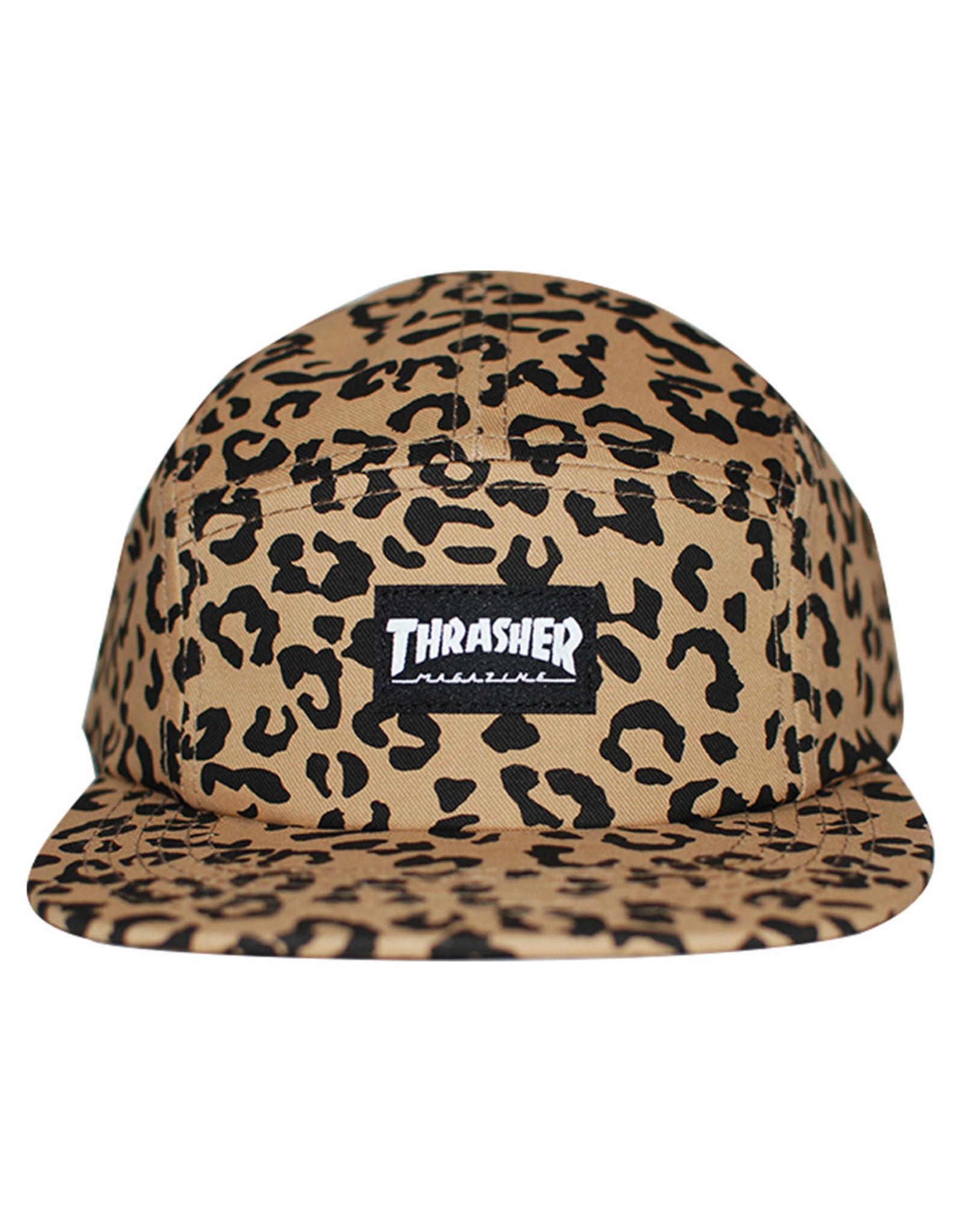 Thrasher Thrasher Hat 5 Panel Strapback (Cheetah)