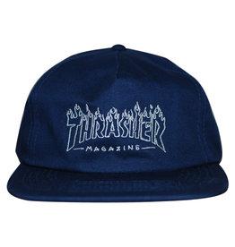 Thrasher Thrasher Hat Drunk Witch Snapback (Navy)