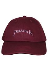 Thrasher Thrasher Hat New Religion Old Timer Strapback (Maroon)