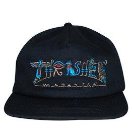 Thrasher Thrasher Hat Hieroglyphic Snapback (Black)