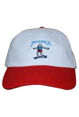 Thrasher Thrasher Hat Gonz Old Timer Strapback (White/Red)