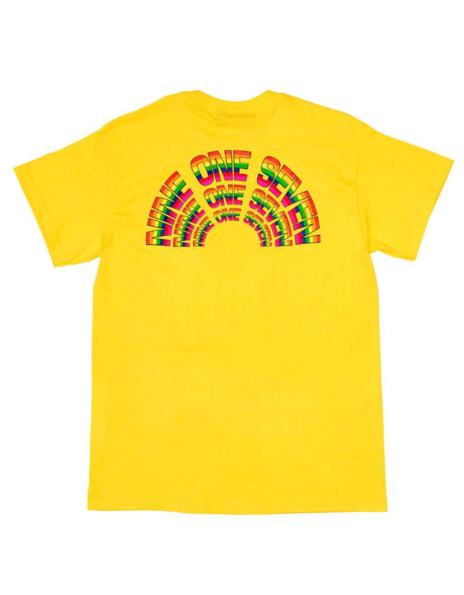 917 917 Tee Rainbow S/S (Yellow)