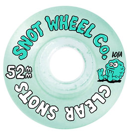 Snot Snot Wheels Team Clear/Green (52mm/101a)