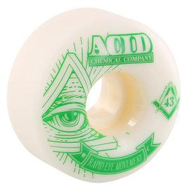 Acid Wheels Acid Wheels REM Pyramid White (56mm)