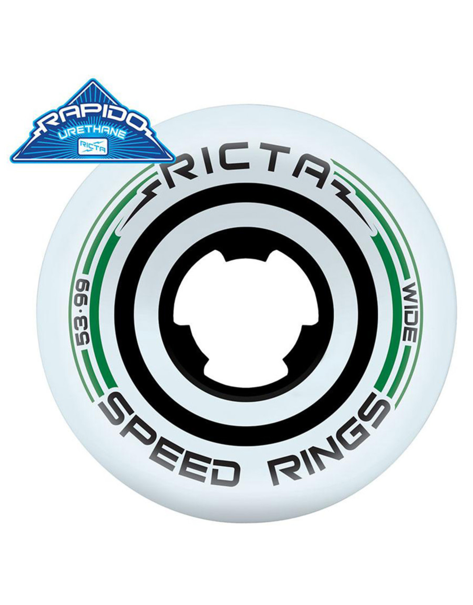 Ricta Wheels Ricta Wheels Team Speedrings Wide White (53mm/99a)