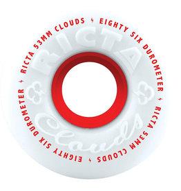 Ricta Wheels Ricta Wheels Team Clouds Red White (53mm/86a)