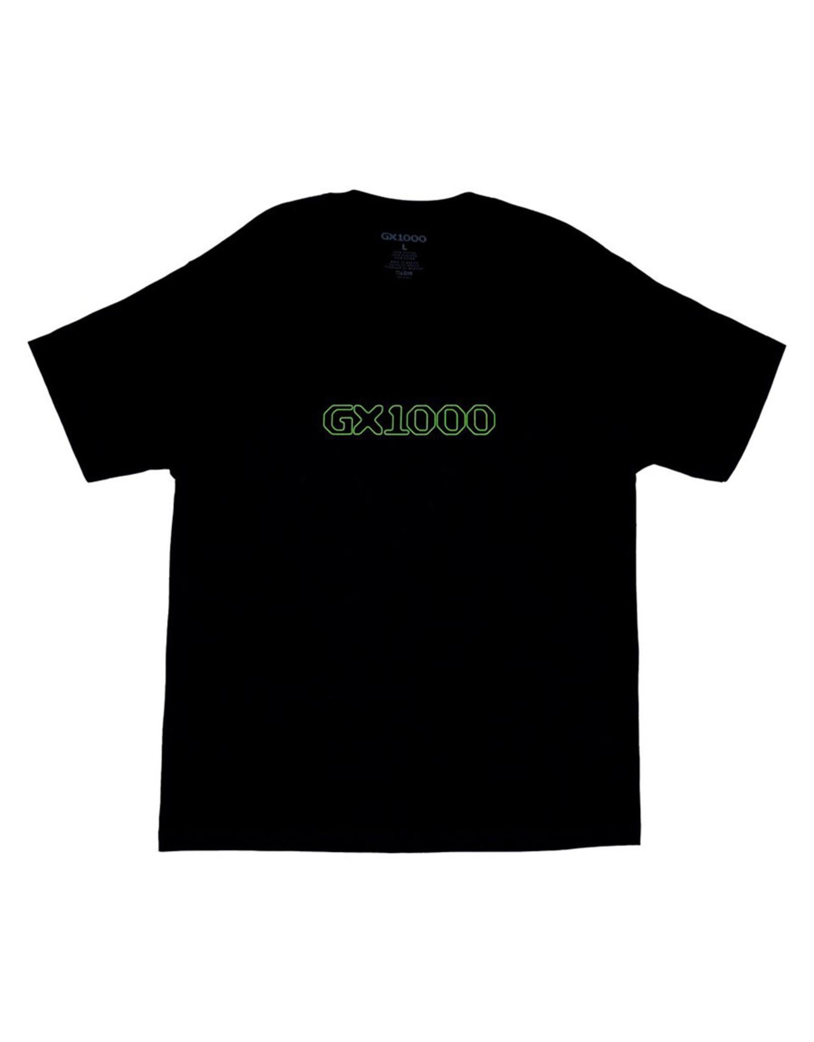 GX1000 GX-1000 Tee OG Logo S/S (Black)