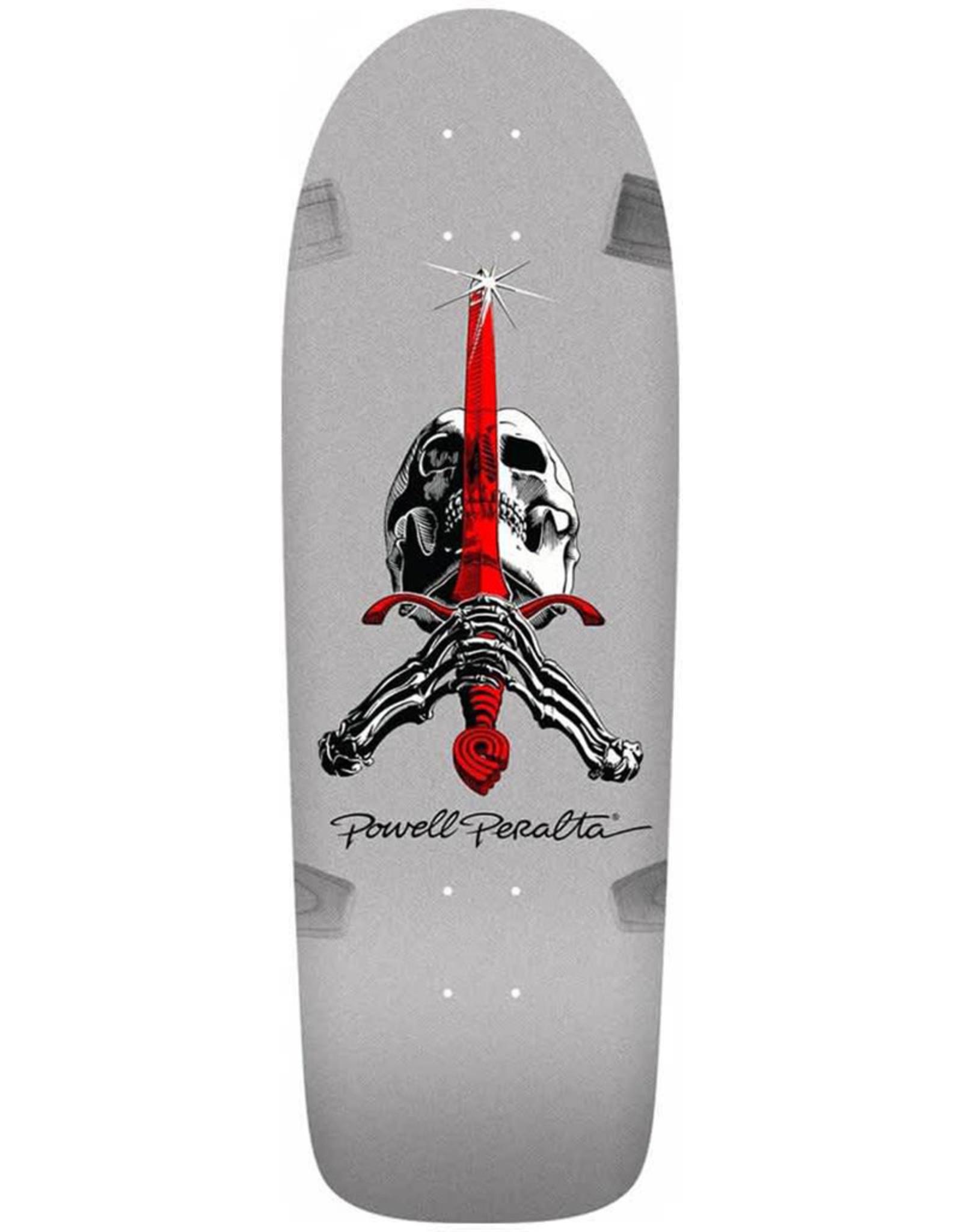 Powell Peralta Powell Peralta Deck Rodriguez Skull/Sword 8 Silver (10.0)