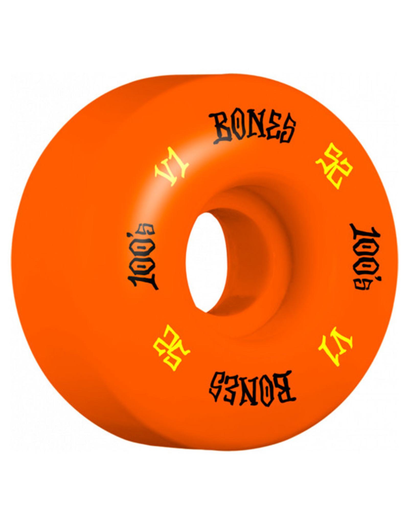 Bones Bones Wheels OG 100 V1 Standard Orange (52mm/100a)