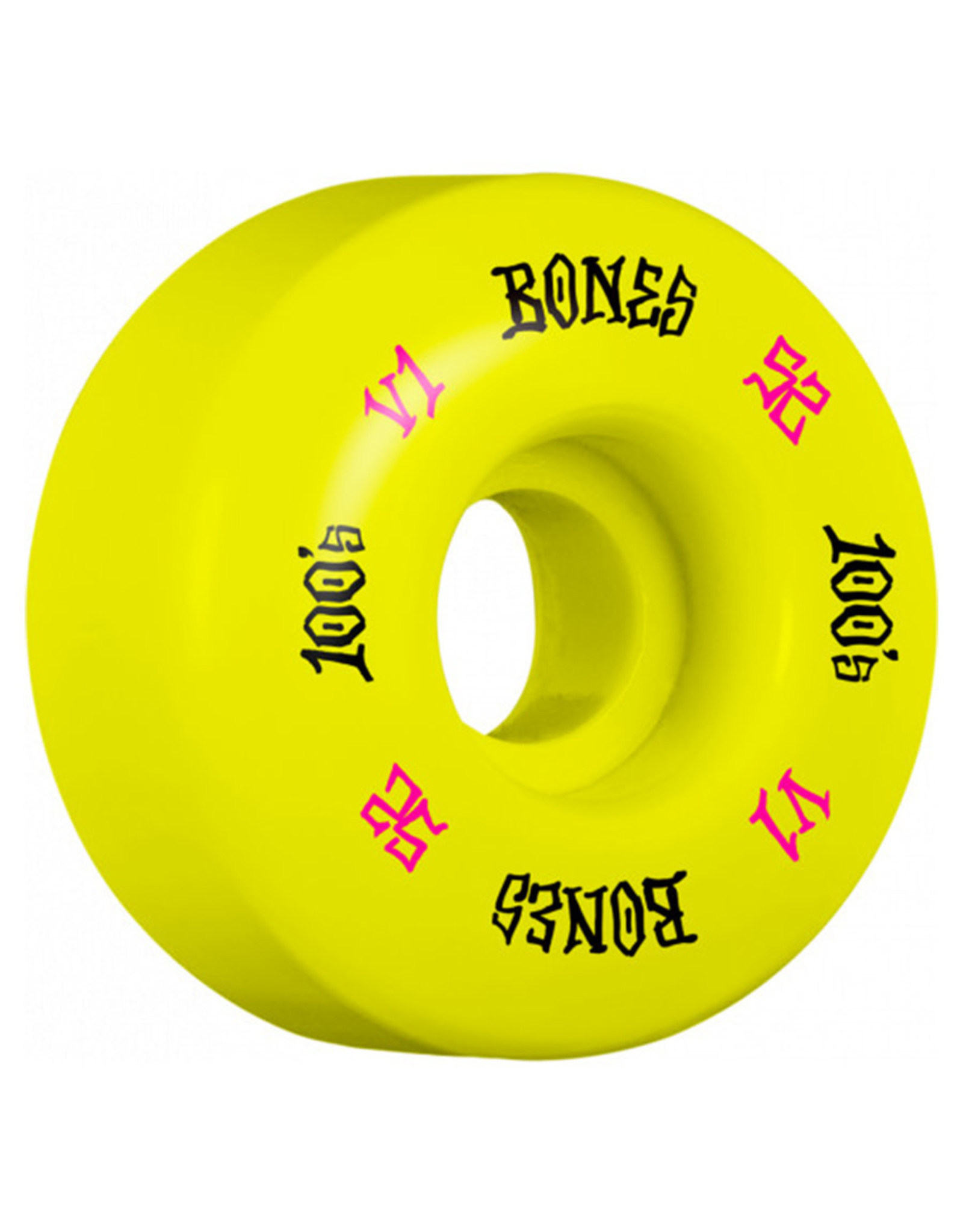 Bones Bones Wheels OG 100 V1 Standard Yellow (52mm/100a)