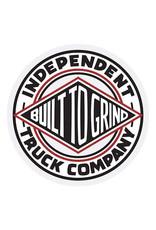 """Independent Independent Sticker BTG Summit White/Black/Red (1.5"""")"""