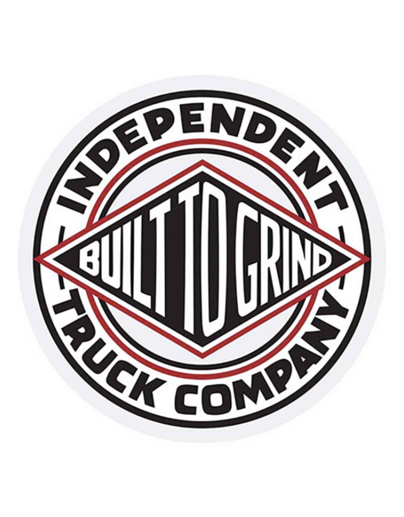 """Independent Independent Sticker BTG Summit White/Black/Red (3"""")"""