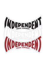 "Independent Independent Sticker ITC Span (3"")"