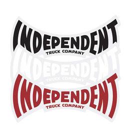 "Independent Independent Sticker ITC Span (6"")"