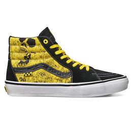 Vans Vans Shoe Skate Sk8-Hi Spongebob (Black/Yellow)
