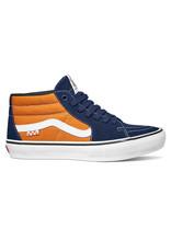 Vans Vans Shoe Skate Grosso Mid (Navy/Orange)