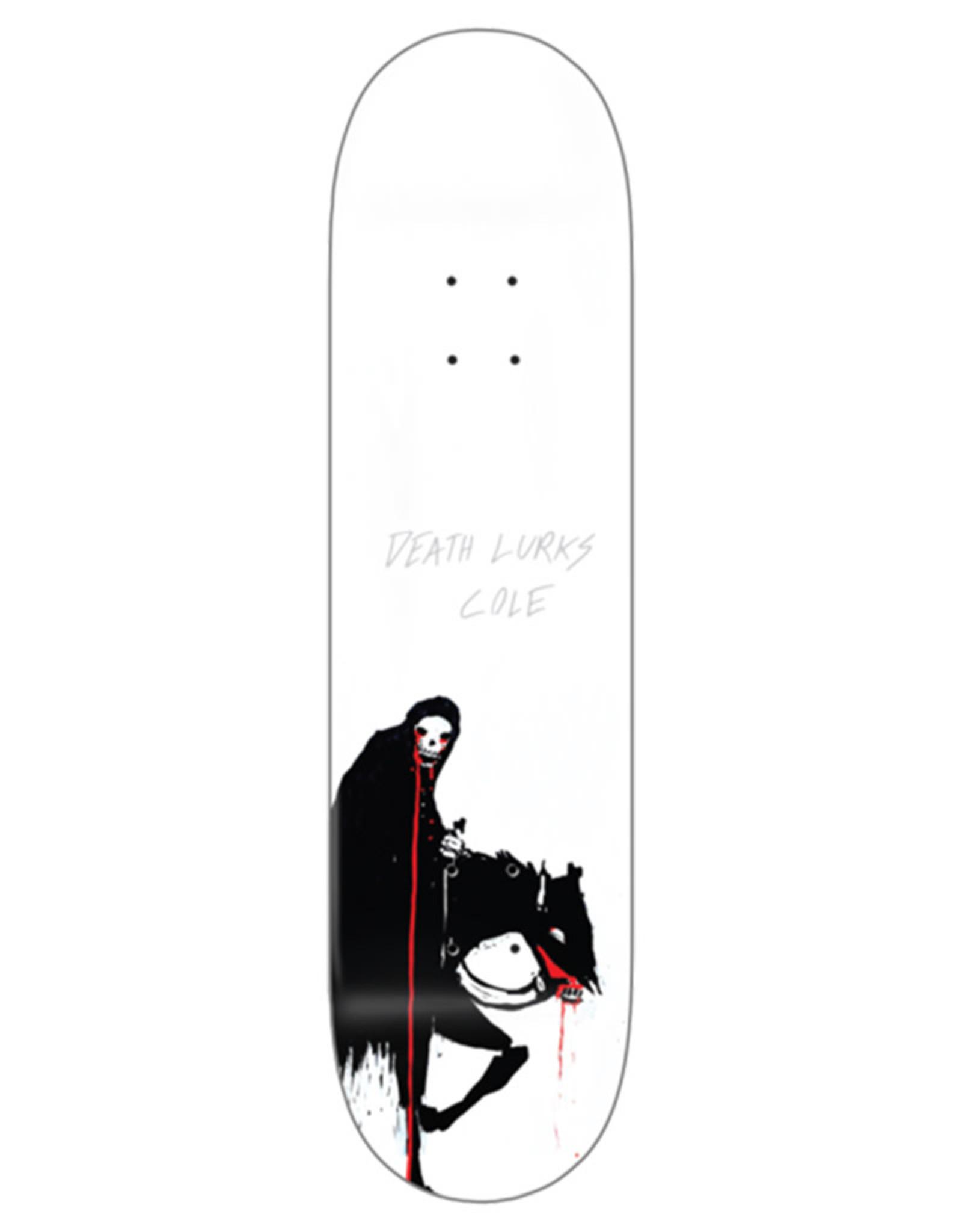 Zero Skateboards Zero Deck Chris Cole X Pitch Canker Death Lurks (8.25)