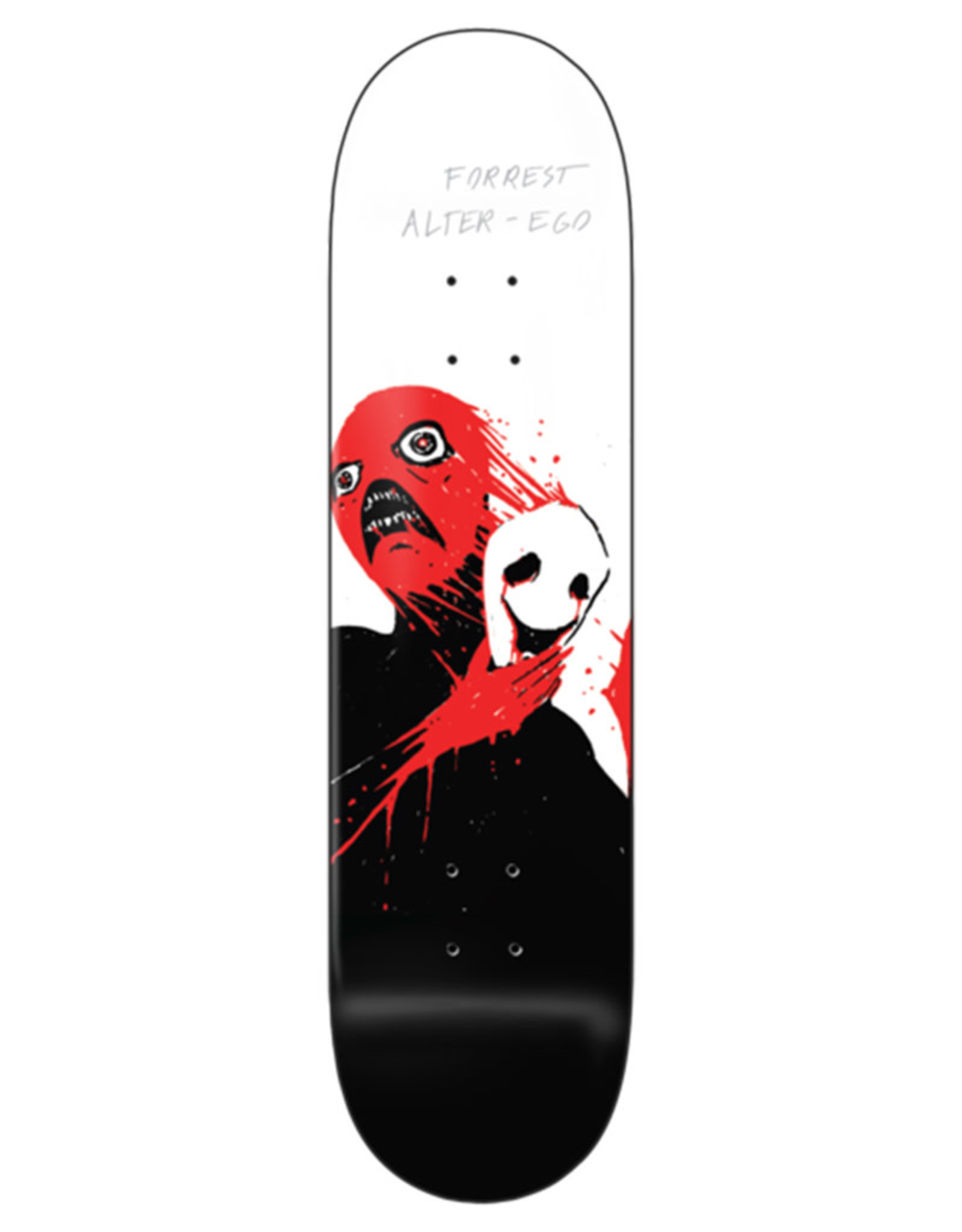 Zero Skateboards Zero Deck Forrest Edwards X Pitch Canker Alter Ego (8.5)