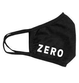 Zero Skateboards Zero Mouth Covering Bold (Black)