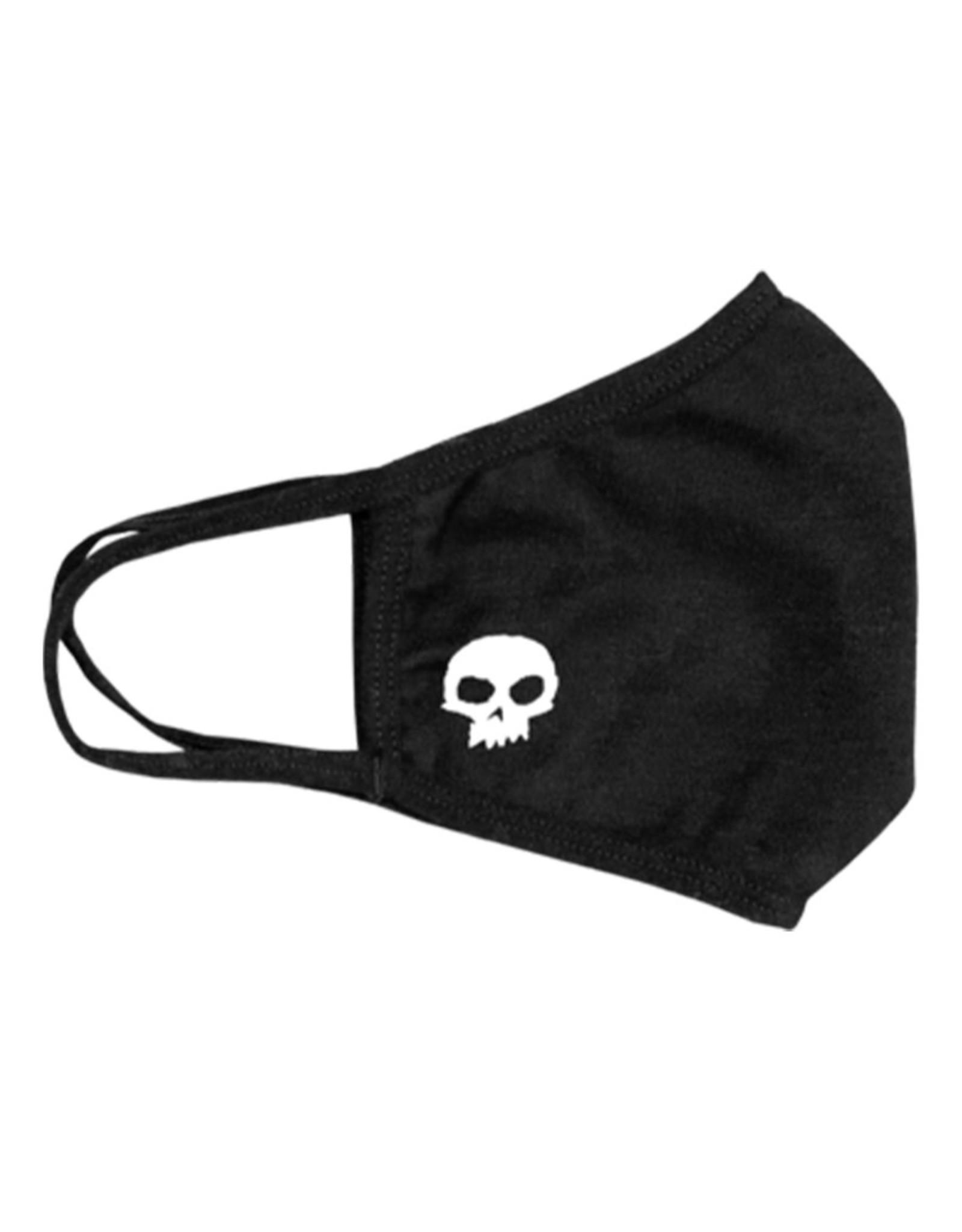 Zero Skateboards Zero Mouth Covering Skull (Black)
