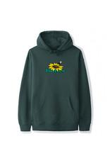 Butter Goods Butter Goods Hood Sunflower Logo Pullover (Forest Green)