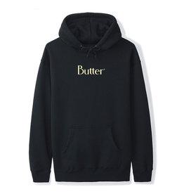 Butter Goods Butter Goods Hood Classic Logo Pullover (Black/Egg Shell)