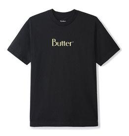 Butter Goods Butter Goods Tee Classic Logo S/S (Black/Egg Shell)