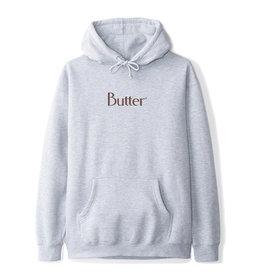 Butter Goods Butter Goods Hood Classic Logo Pullover (Heather Grey/Chocolate)