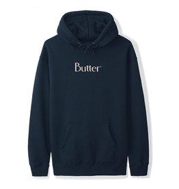 Butter Goods Butter Goods Hood Classic Logo Pullover (Navy/Cream)