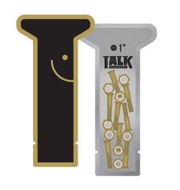Talk Hardware Talk Hardware Gold Phillips (1 inch)