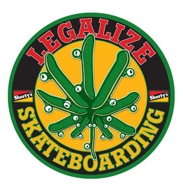 Shorty's Shortys Sticker Legalize