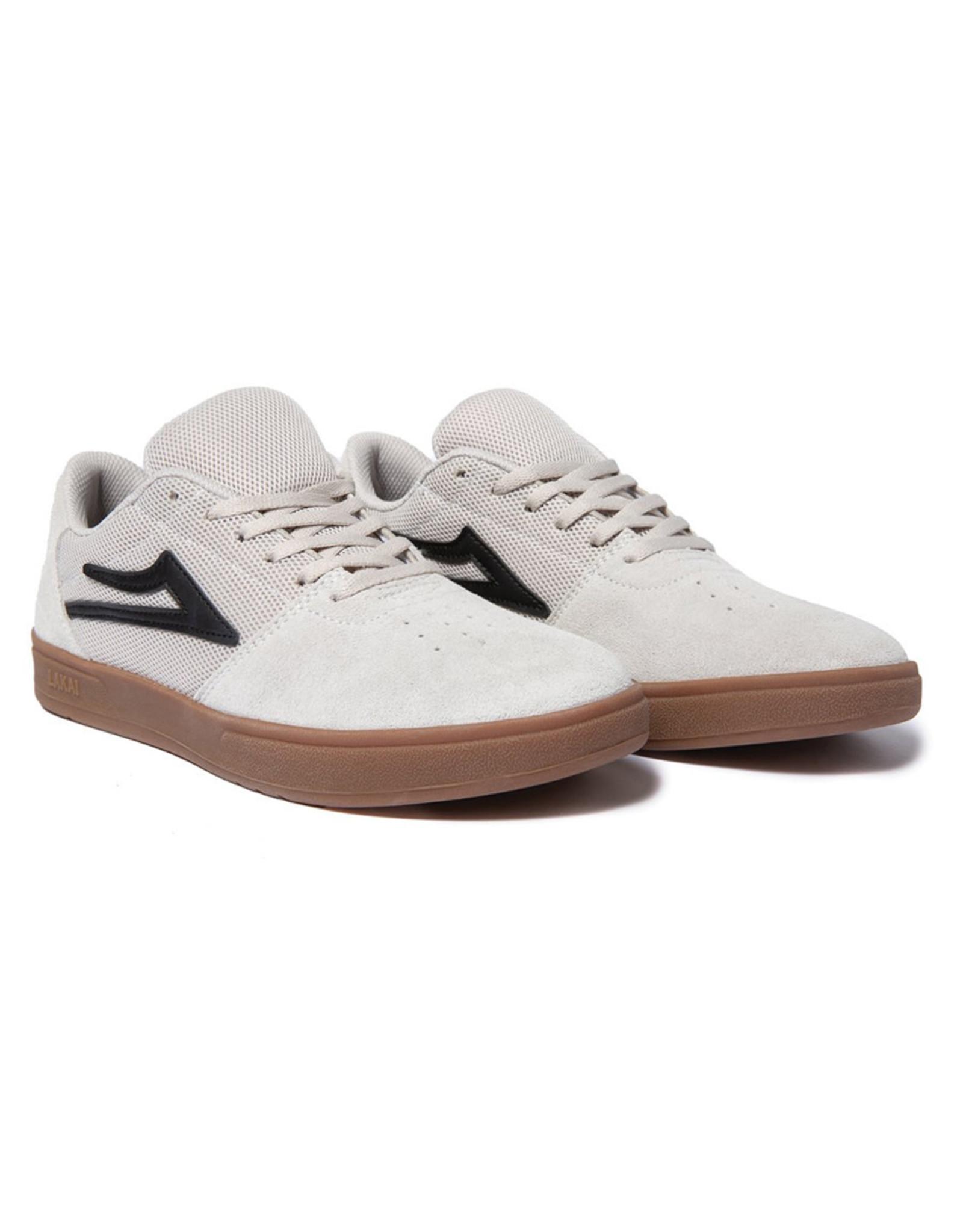 Lakai Shoes Lakai Shoe Brighton (White/Gum Suede)