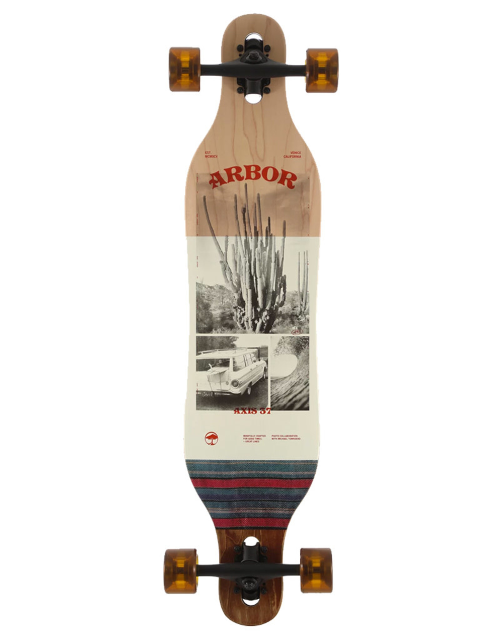 "Arbor Arbor Complete Axis 37"" Townsend Photo Cruiser"
