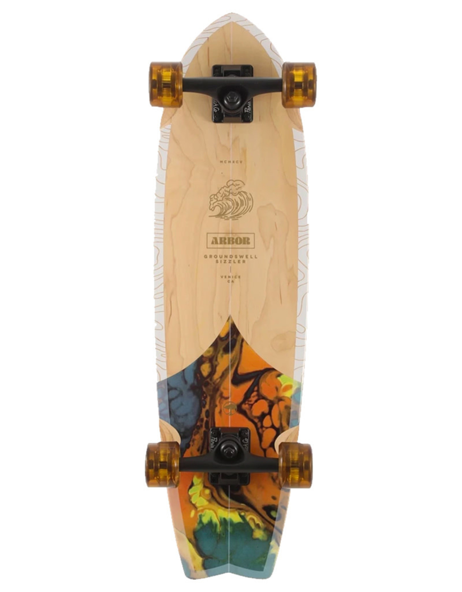 """Arbor Arbor Complete Sizzler 30.5"""" Groundswell Cruiser"""