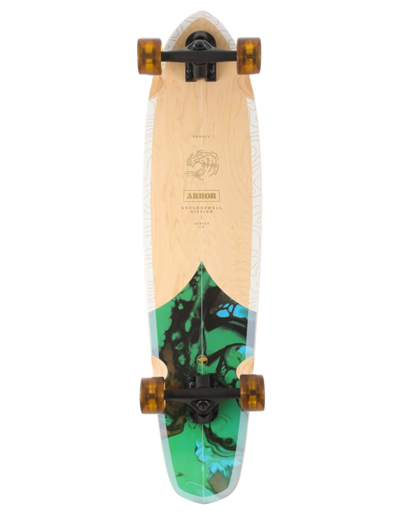 """Arbor Arbor Complete Mission 35"""" Groundswell Performance Cruiser"""