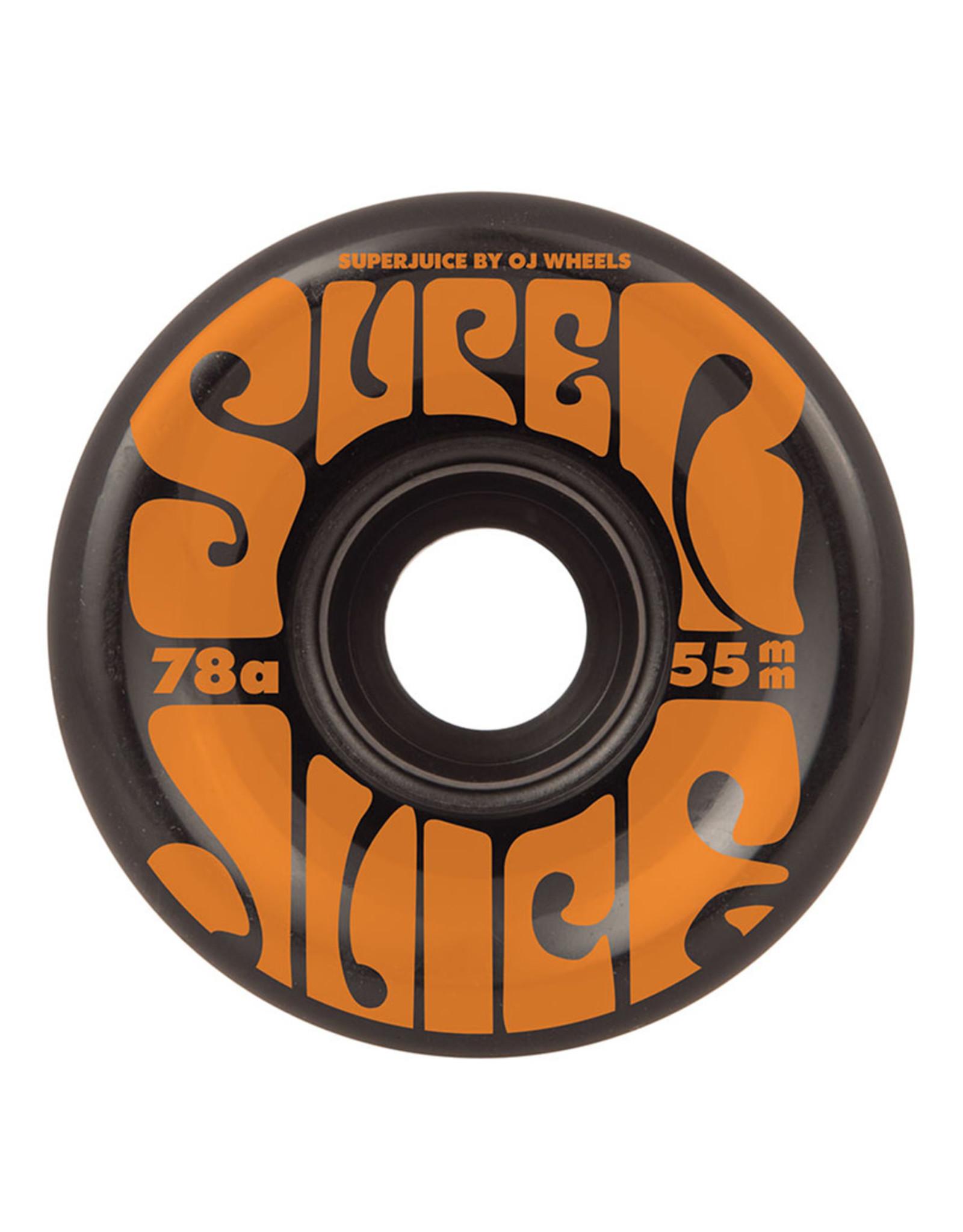 OJ Wheels OJ Wheels Team Mini Super Juice Black (55mm/78a)