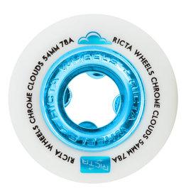 Ricta Wheels Ricta Wheels Team Chrome Clouds Blue (54mm/78a)