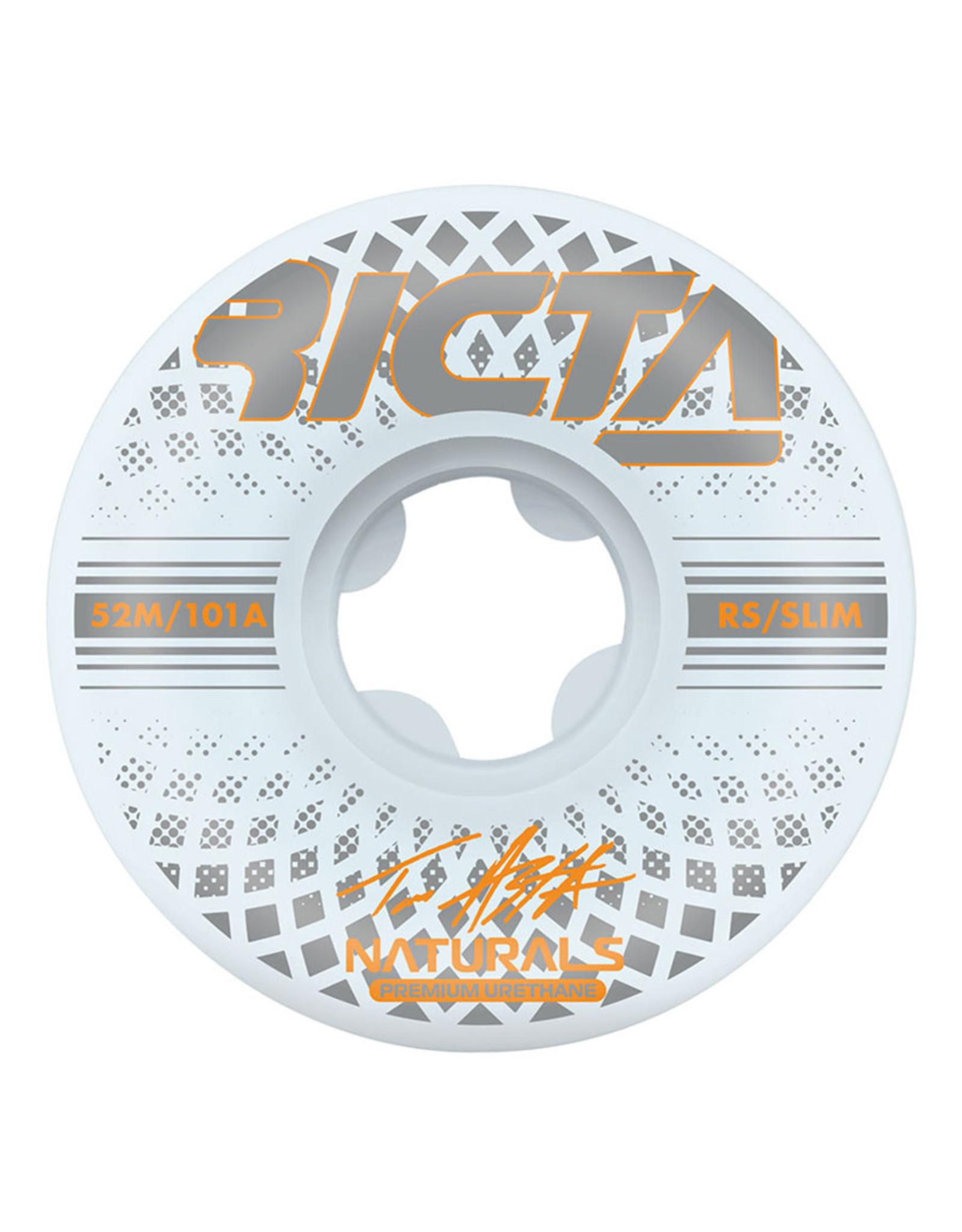 Ricta Wheels Ricta Wheels Tom Asta Reflective Naturals Slim White (52mm/101a)