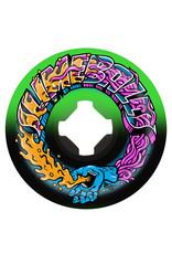 Slime Balls Slime Balls Wheels Greetings Speed Balls Green/Black (56mm/99a)