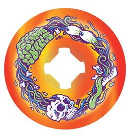 Slime Balls Slime Balls Wheels Brains Speed Balls Orange/Yellow Swirl (56mm/99a)