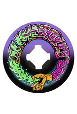 Slime Balls Slime Balls Wheels Greetings Speed Balls Purple/Black (53mm/99a)