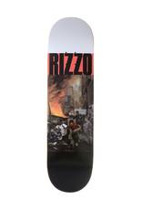 Quasi Skateboards Quasi Deck Dick Rizzo Run Red (8.375)