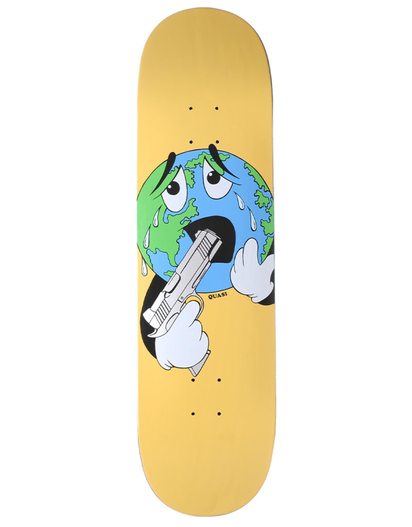 Quasi Skateboards Quasi Deck Team World Aqua (8.5)