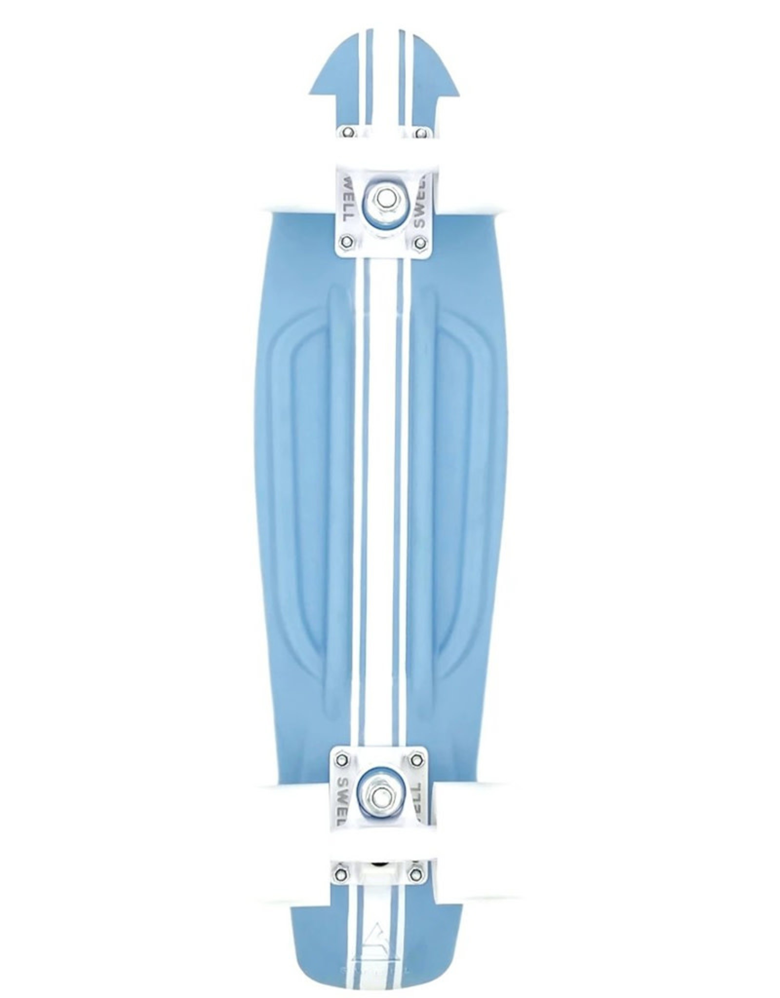 """Swell Skateboards Swell Complete 28"""" (Surf Rider Blue)"""