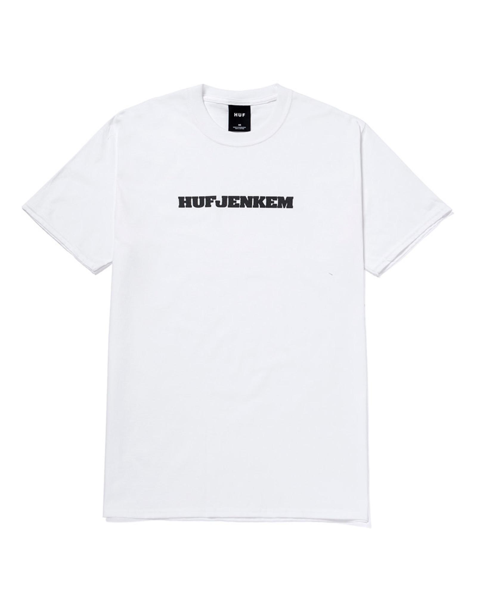 Huf Huf Tee X Jenkem Classic S/S (White)